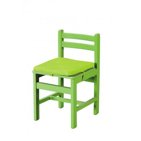 صندلی کودک با روکش چرمی