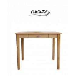 میز تحریر یکنفره بدون مانع کشودار