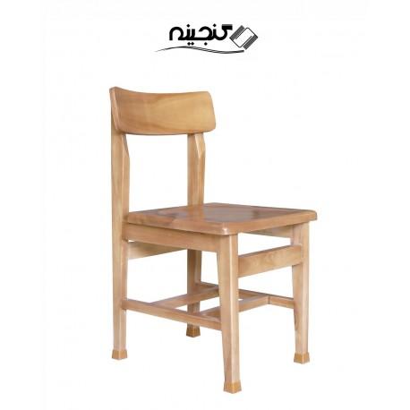 صندلی تمام چوبی قوس دار