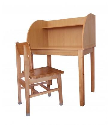 میز مطالعه یک نفره حلالی